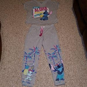Disney stitch sleepwear